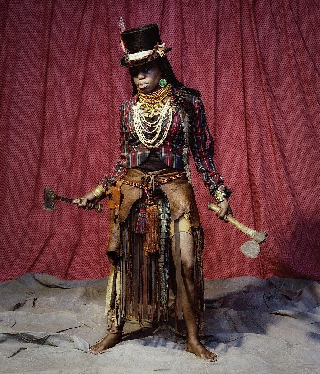 «NKOSOZANA»:  Фантастические принцессы Африки. Изображение № 10.