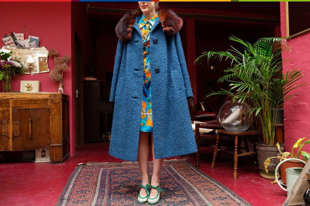 Психоделия: Дизайнер обуви Джорджи Би и ее коллекция винтажа. Изображение № 13.