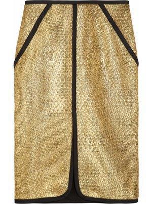 Золотой цвет  в осенне-зимних коллекциях. Изображение № 21.