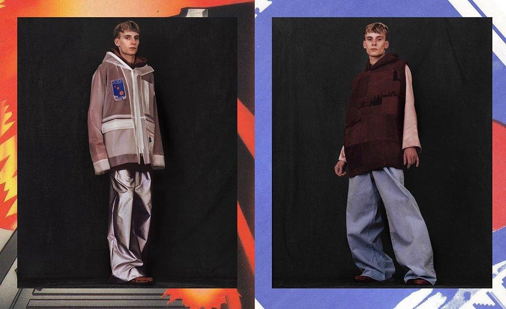 Martine Rose:  Одежда унисекс  монструозных объемов. Изображение № 2.