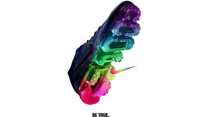 Nike и Converse представили коллекции  в поддержку ЛГБТ. Изображение № 6.