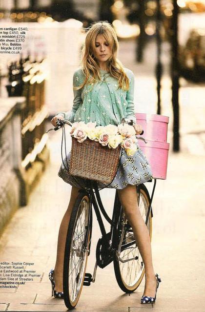 Ах, лето: Фэшн-съемки с велосипедами. Изображение № 2.