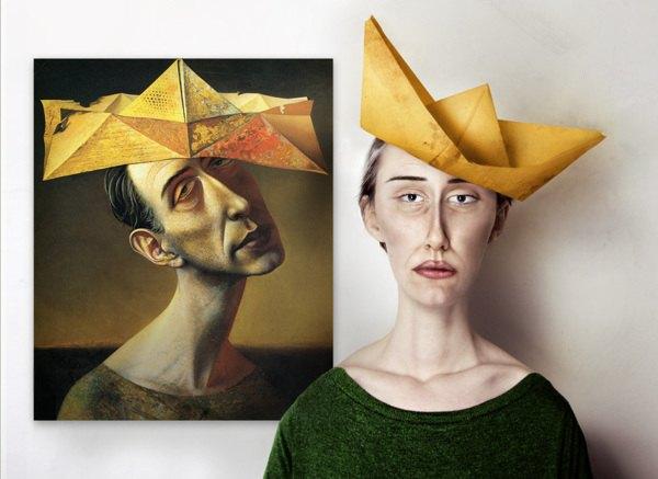 Художница оживила моделей Малевича, Модильяни и Пикассо. Изображение № 2.