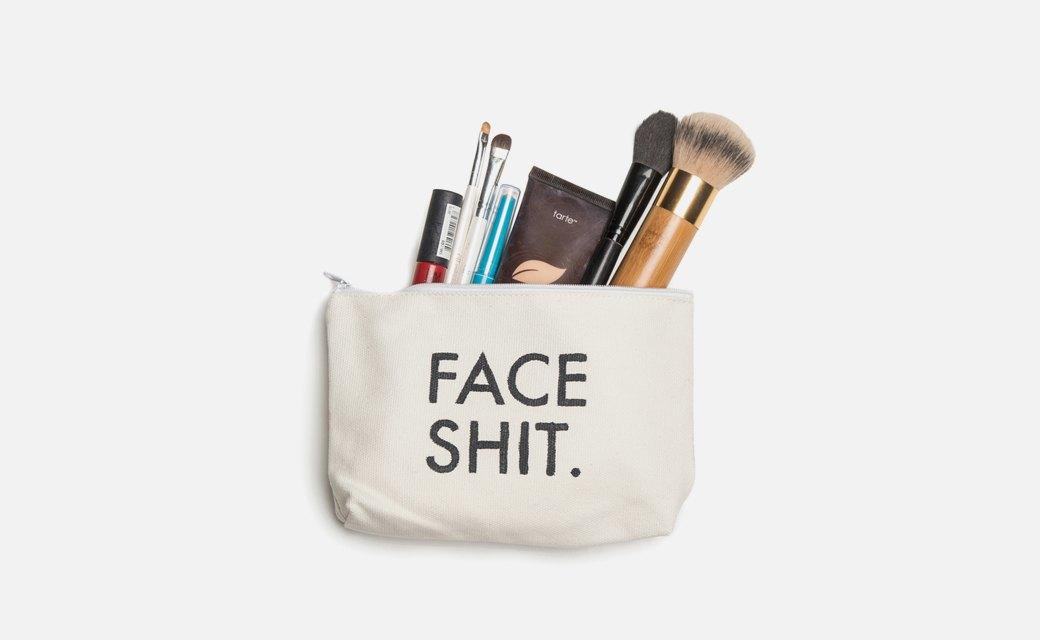 Косметичка-мем  Face Shit. Изображение № 1.
