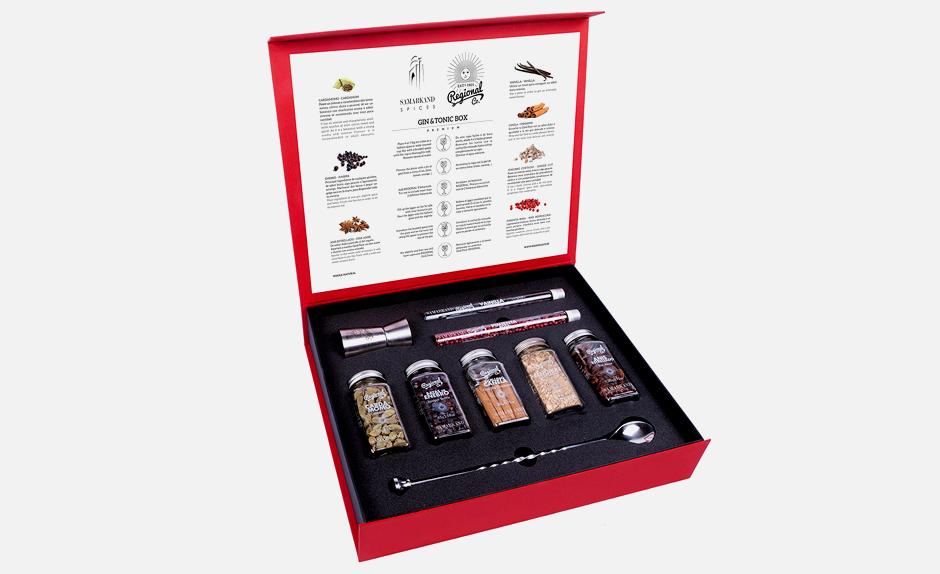 Набор специй для джина-тоника Samarkand Spices. Изображение № 1.