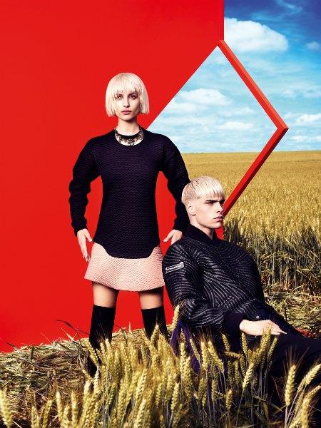 Наоми Янг сняла новую рекламную кампанию «Цветного» . Изображение № 4.