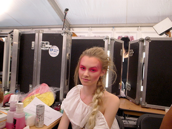 London Fashion Week: Репортаж с бэкстейджей House of Holland и Vivienne Westwood. Изображение № 31.