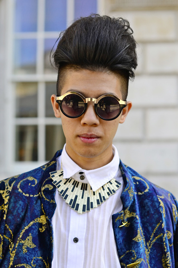 Streetstyle: Неделя моды в Лондоне, часть 2. Изображение № 3.