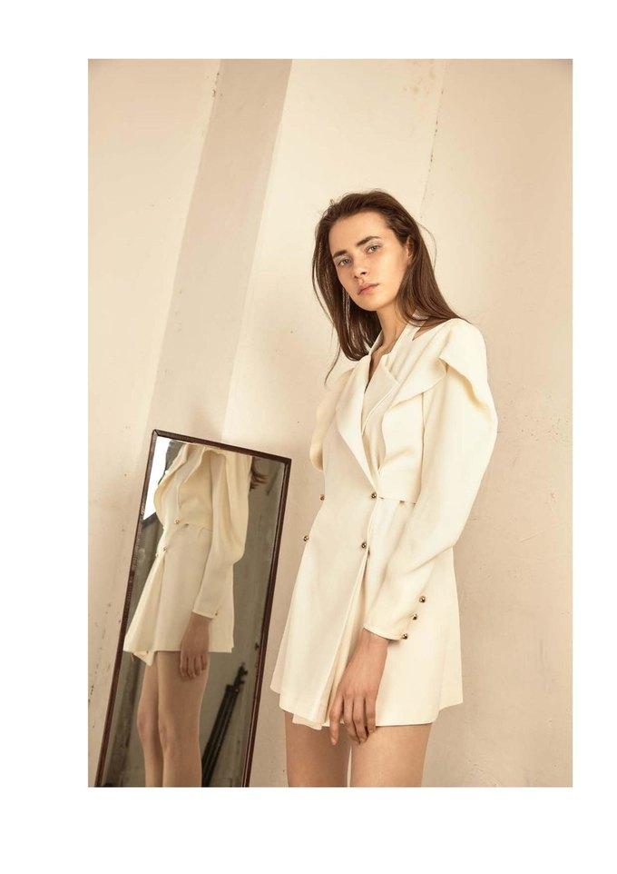 Новая коллекция Sergey Soroka вдохновлена мужским гардеробом. Изображение № 28.