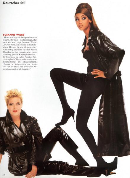 Тёмные силы: 10 чернокожих моделей. Изображение № 3.