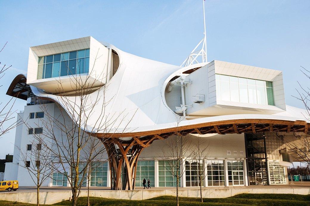 10 впечатляющих музеев современного искусства. Изображение № 8.