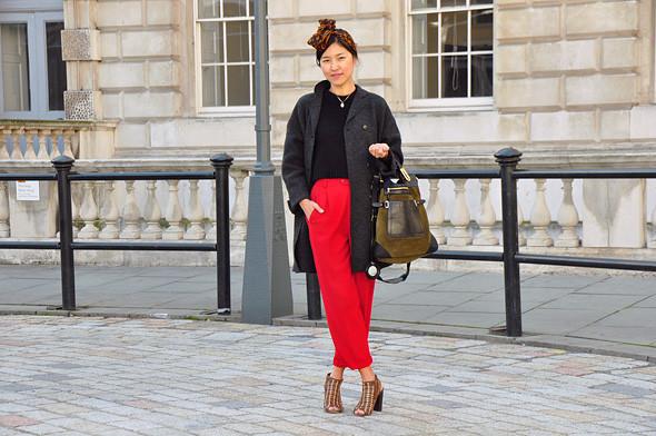 London Fashion Week: Уличный стиль, часть 3. Изображение № 18.