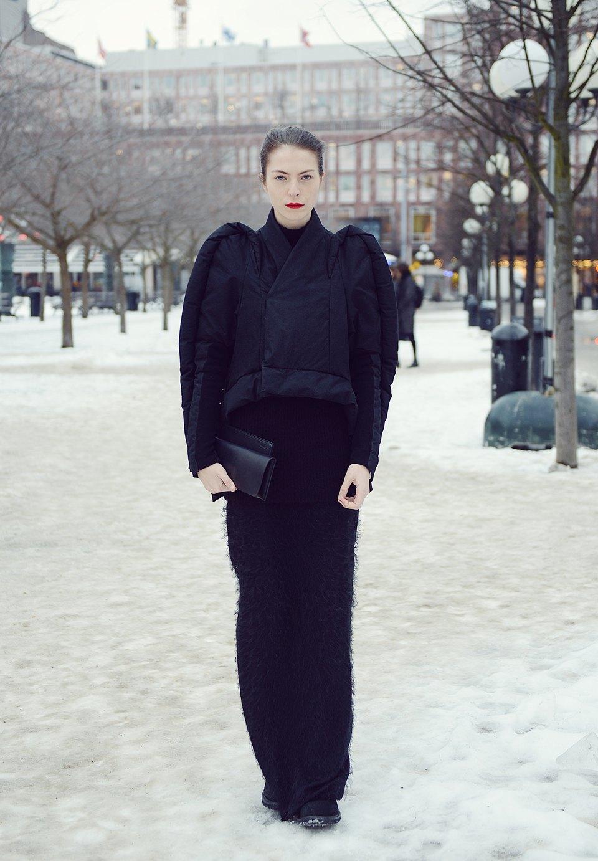 Шубы и горох на Stockholm Fashion Week. Изображение № 1.