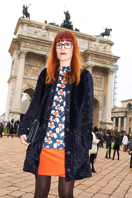 Стритстайл: Неделя моды в Милане,  часть III. Изображение № 9.