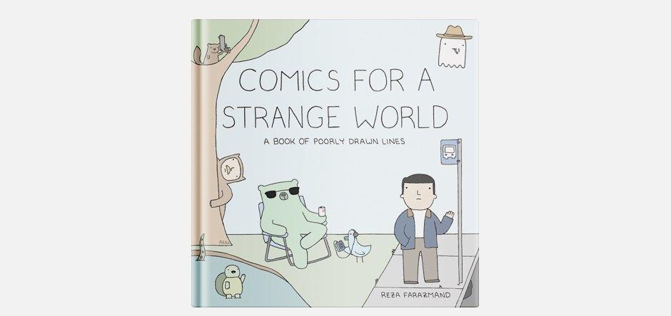 Сборник абсурдных комиксов Poorly Drawn Lines. Изображение № 1.