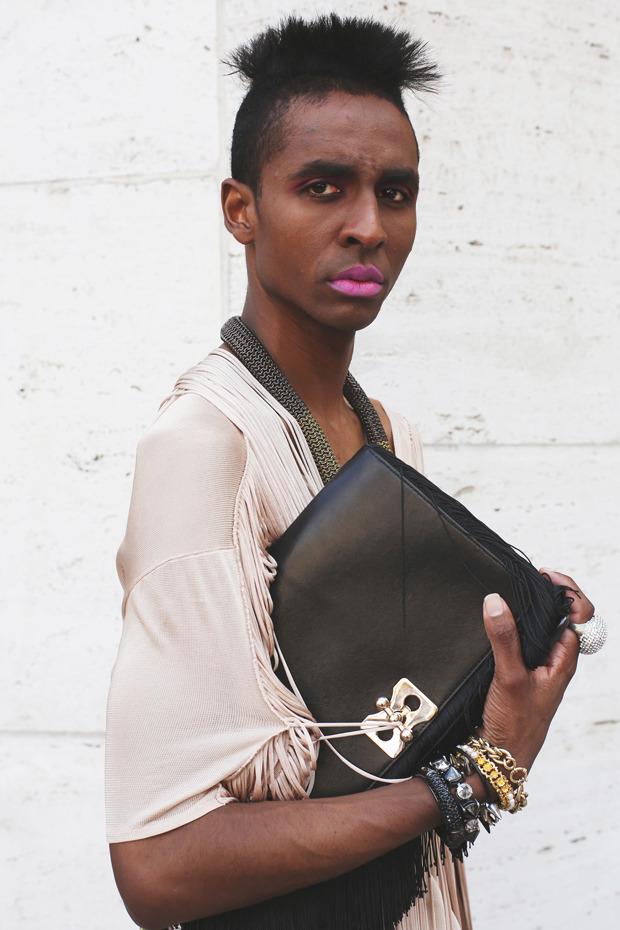Других посмотреть и себя показать: Неделя моды в Нью-Йорке. Изображение № 14.