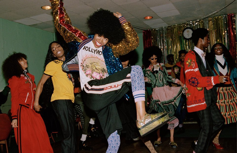 Танцуют все: Кампания Gucci, вдохновлённая 60-ми. Изображение № 13.