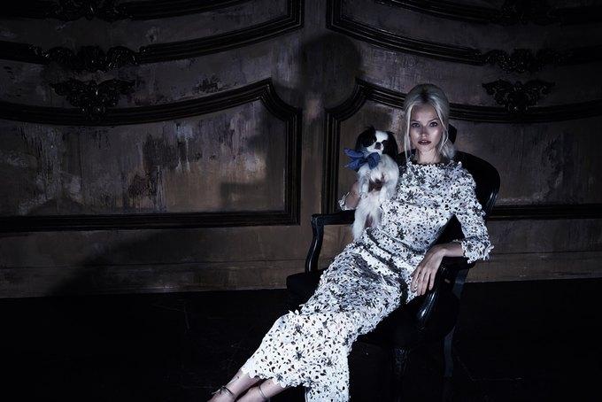 Саша Лусс с собачкой в новом лукбуке Bohemique. Изображение № 18.