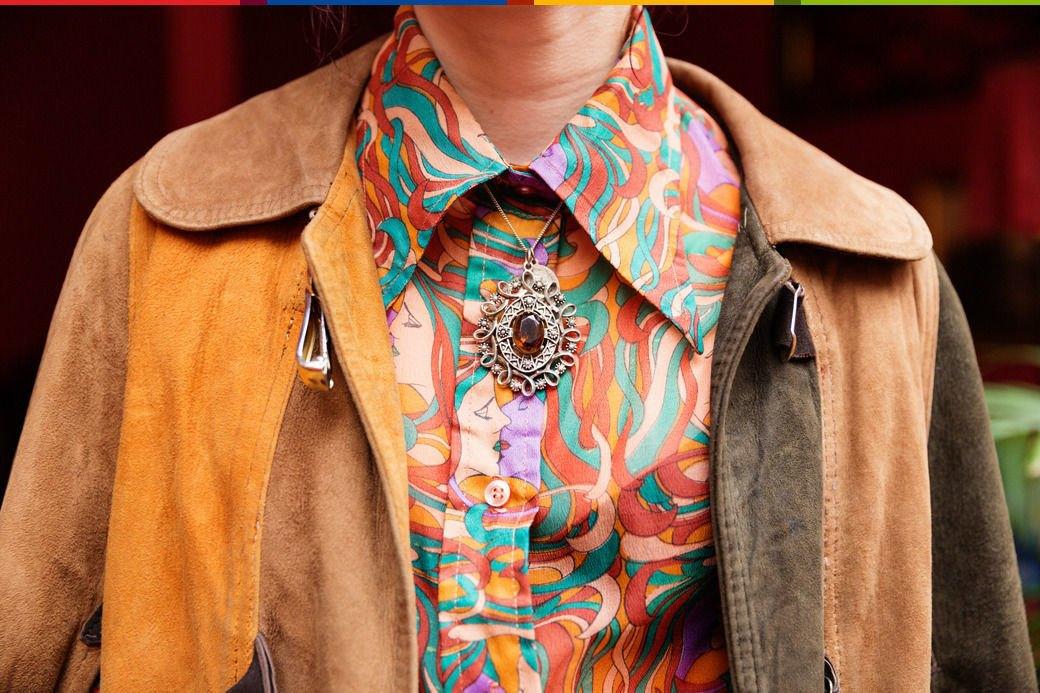 Психоделия: Дизайнер обуви Джорджи Би и ее коллекция винтажа. Изображение № 8.