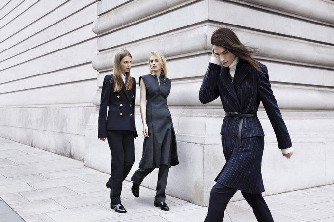 Модели на улицах Лондона в новой кампании Zara. Изображение № 4.