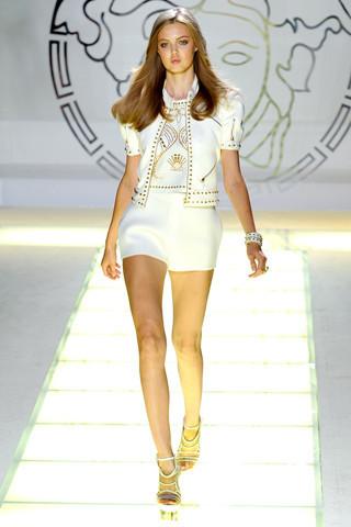Milan Fashion Week: показ Versace SS 2012. Изображение № 1.