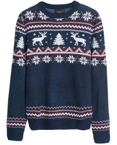 «Уродливые» свитера для Нового года: От простых до роскошных. Изображение № 4.