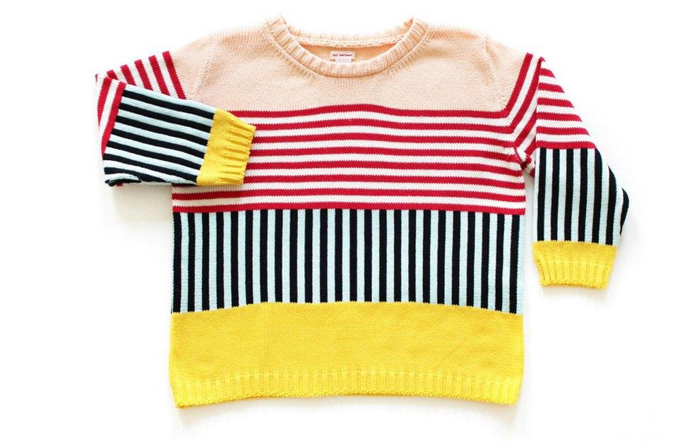 Теплые свитеры ALL Knitwear с геометричным узором. Изображение № 3.