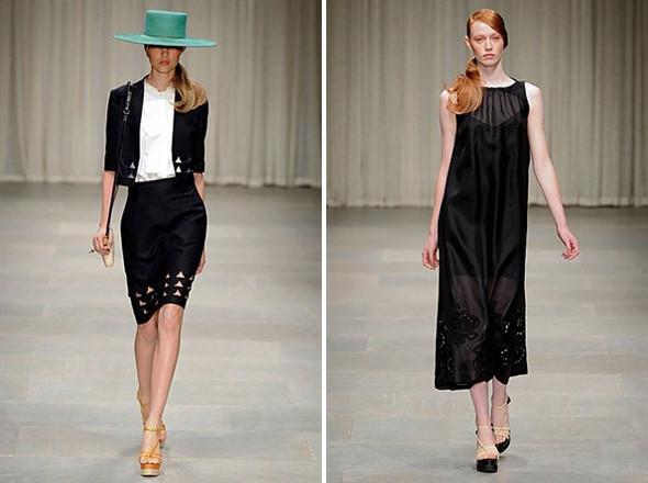 Показы на London Fashion Week SS 2012: День 2. Изображение № 7.