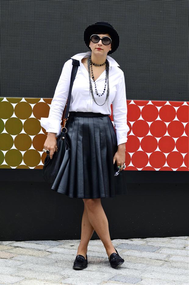 Streetstyle: Неделя моды в Лондоне, часть 2. Изображение № 12.