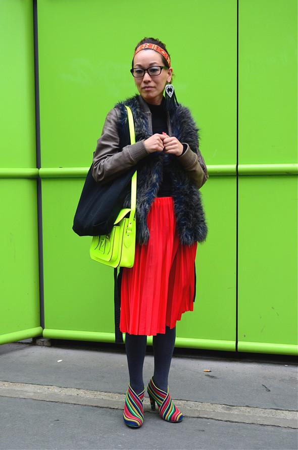 Неделя моды в Париже: Streetstyle. Изображение № 37.