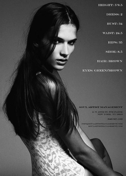 Композитки пяти модельных агентств к Нью-Йоркской неделе моды. Изображение № 5.