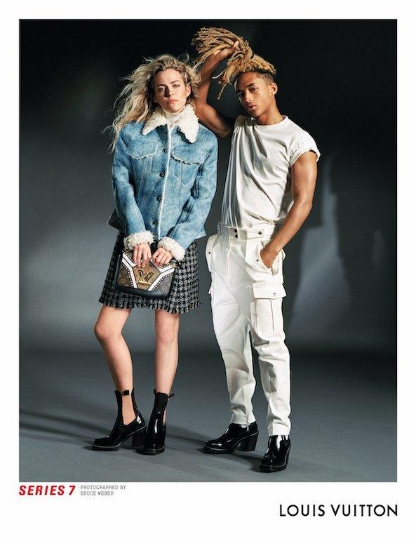 Катрин Денёв и Джейден Смит в новой кампании Louis Vuitton. Изображение № 1.