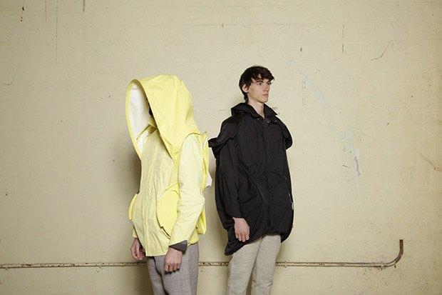 Дизайнер Камилла Кунц:  Мужская одежда, силикон  и мраморный принт. Изображение № 7.