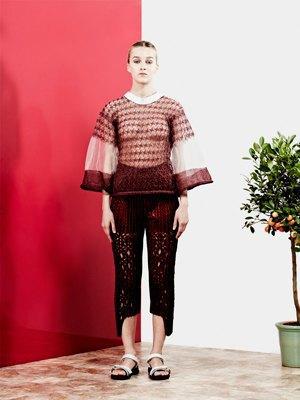 Плиссе и плетение из цветной кожи Martina Spetlova . Изображение № 4.
