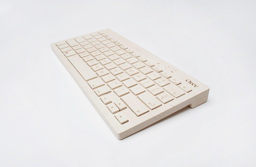 Деревянная клавиатура  Orée. Изображение № 2.