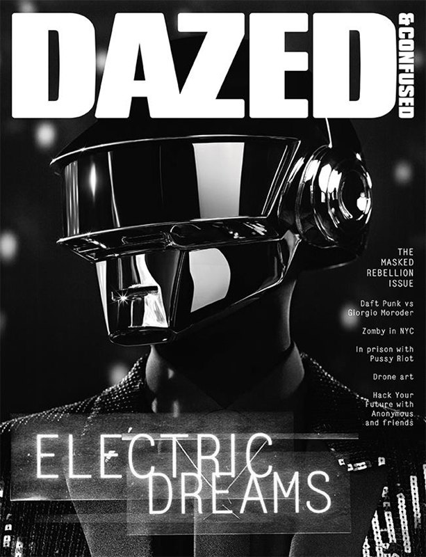 Daft Punk снялись для обложки Dazed & Confused. Изображение № 2.