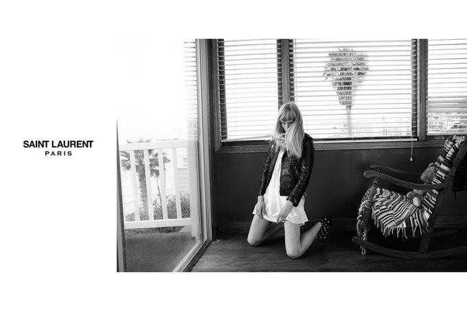 Звезда «Любви» Гаспара Ноэ и сын Килмера снялись в рекламе Saint Laurent. Изображение № 19.