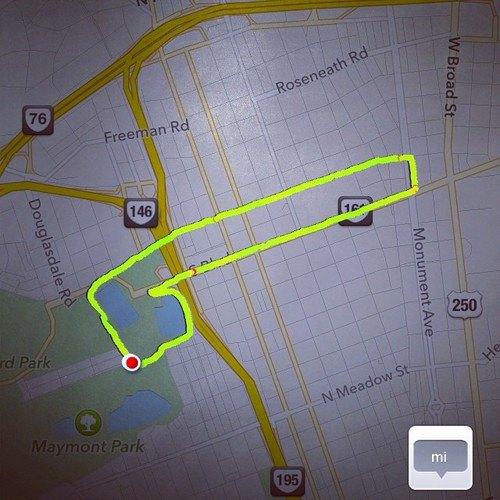 Американка превращает маршруты тренировок Nike+ в рисунки пенисов. Изображение № 3.