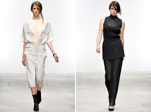 Показы на London Fashion Week SS 2012: День 1. Изображение № 22.