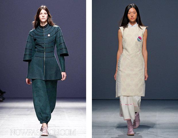Неделя моды в Париже: показы Veronique Branquinho, Cedric Charlier, Anthony Vaccarello и Aganovich. Изображение № 33.