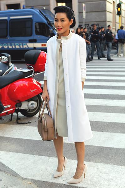 Milan Fashion Week: Уличный стиль, день 2. Изображение № 15.