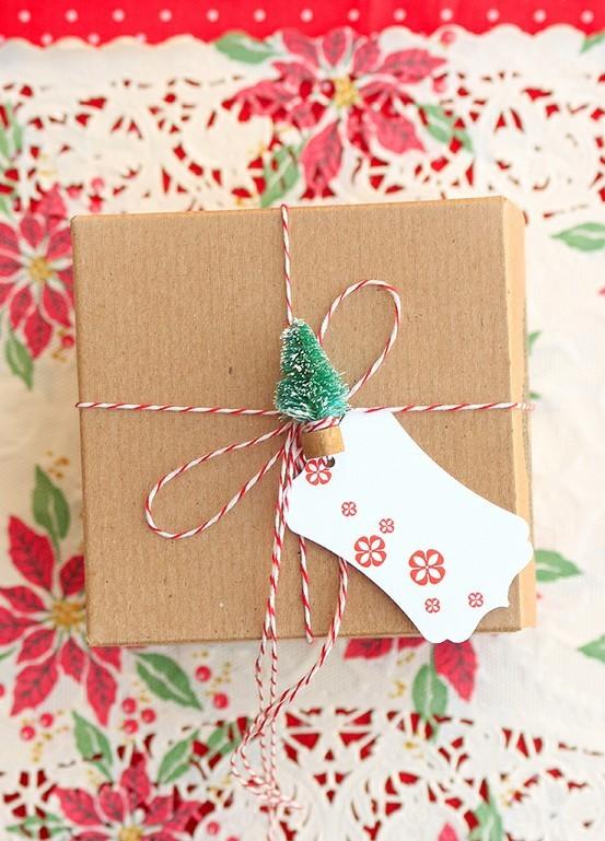 55 идей для упаковки новогодних подарков. Изображение № 3.