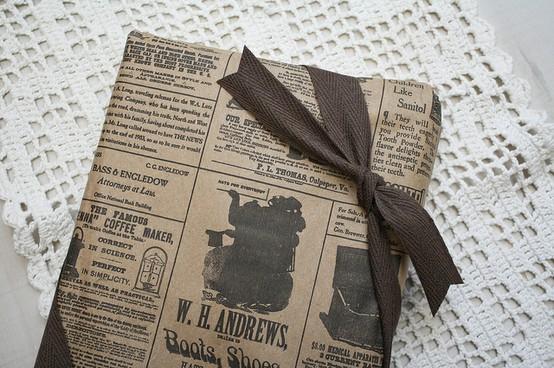55 идей для упаковки новогодних подарков. Изображение № 83.