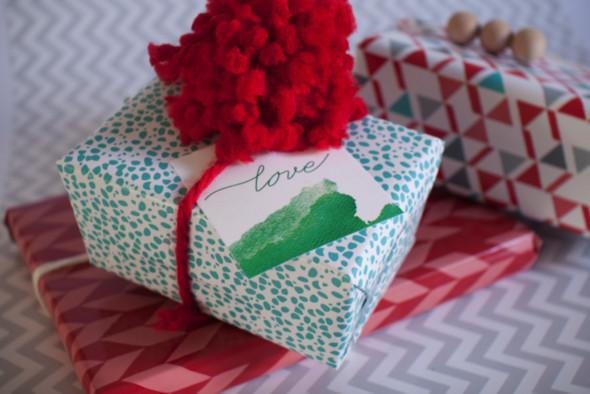55 идей для упаковки новогодних подарков. Изображение № 20.