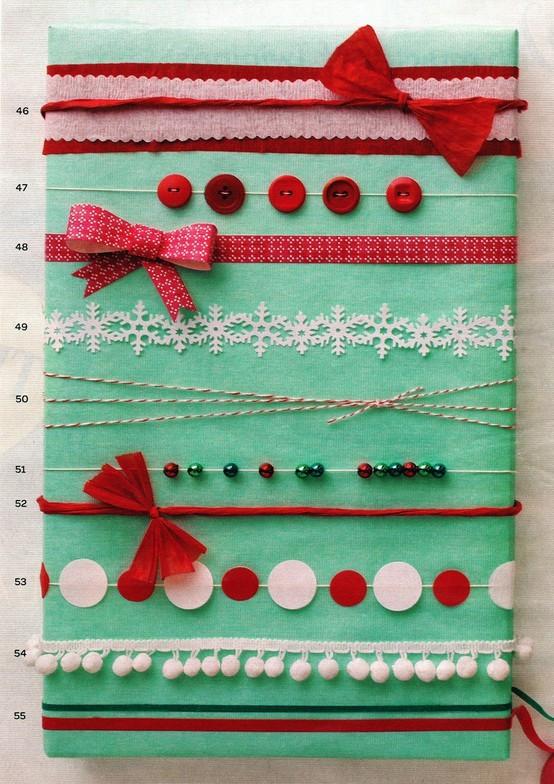 55 идей для упаковки новогодних подарков. Изображение № 100.