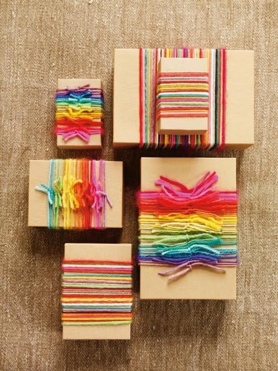 55 идей для упаковки новогодних подарков. Изображение № 94.
