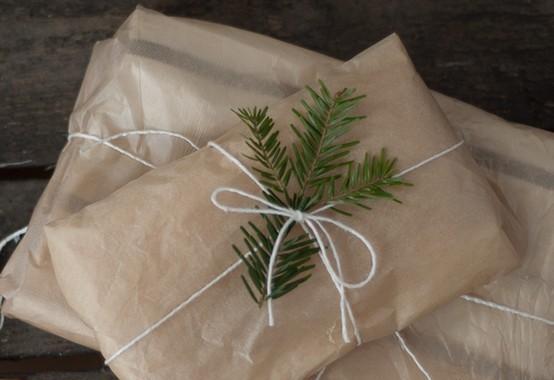 55 идей для упаковки новогодних подарков. Изображение № 33.