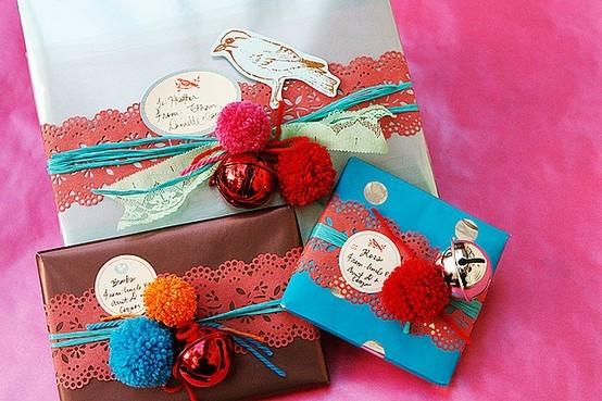 55 идей для упаковки новогодних подарков. Изображение № 21.