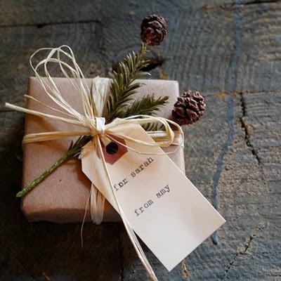 55 идей для упаковки новогодних подарков. Изображение № 31.