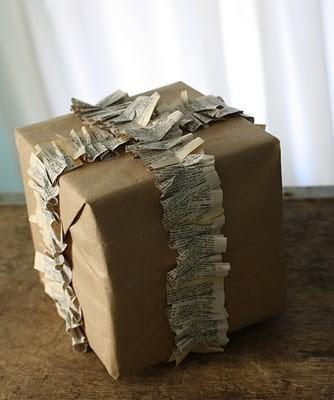 55 идей для упаковки новогодних подарков. Изображение № 97.